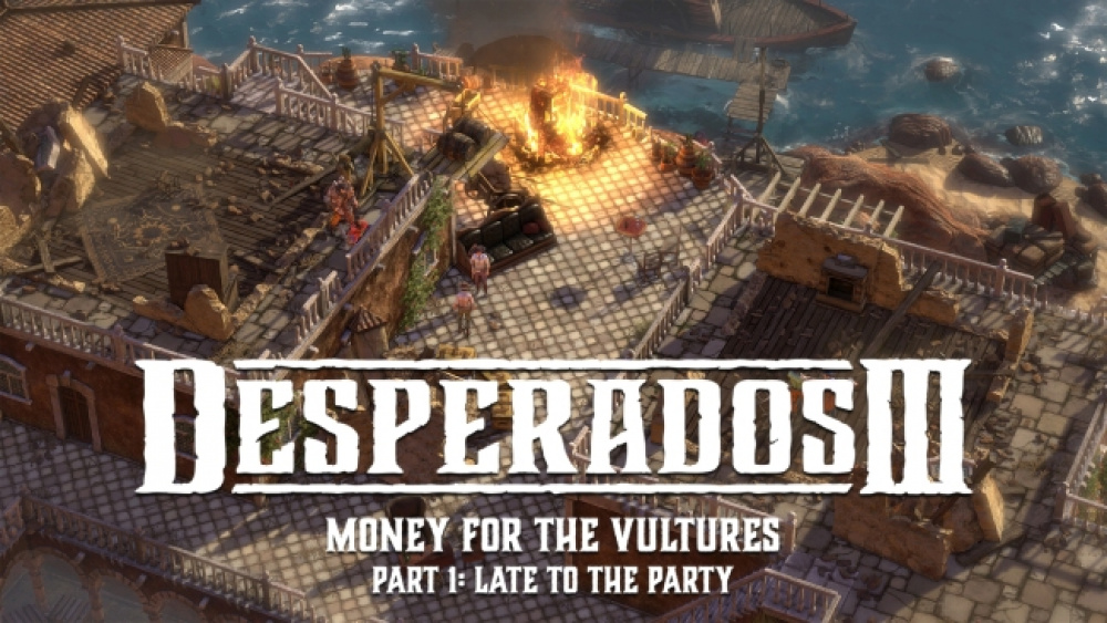 A Feast For The Vultures New Desperados Iii Dlc Adds Full New Missionnews Dlh Net