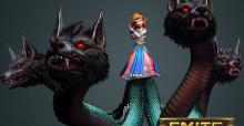 Neue SMITE Göttin - Scylla, der Schrecken der Tiefe