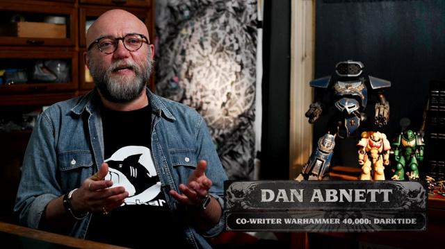Q&A Dan Abnett - Warhammer 40,000: DarktideNews  |  DLH.NET The Gaming People