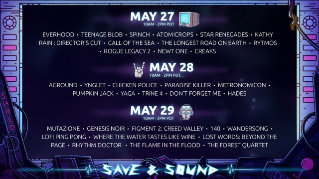 Digital music festival Save & Sound kicks off this weekend with sales on SteamNews     DLH.NET The Gaming People